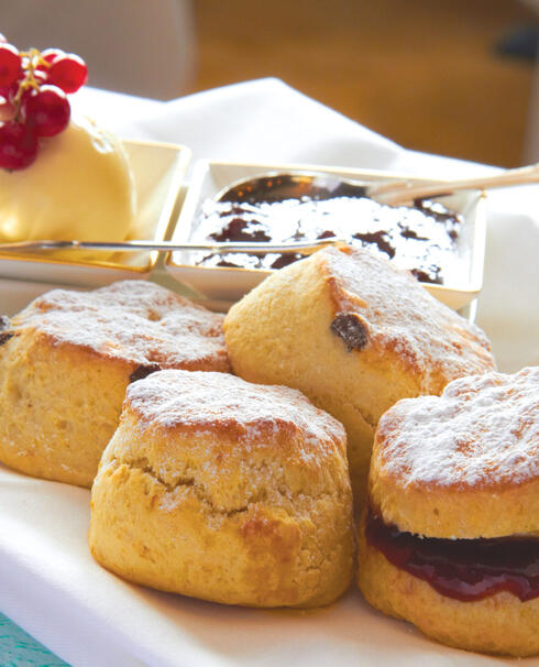 Where did afternoon tea originate from?