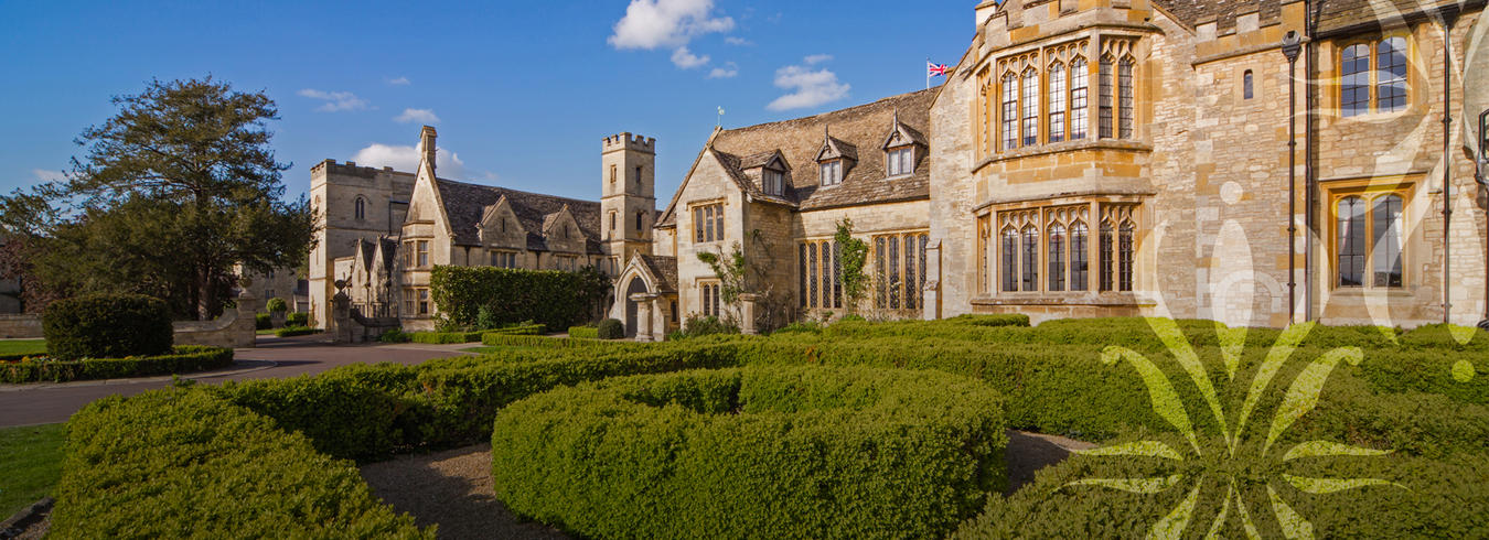 a photo of the exterior of ellenborough park hotel