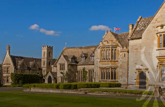 a photo of ellenborough park hotel in summer