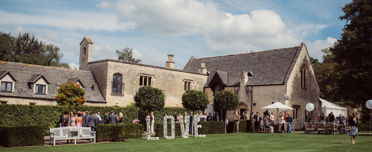this is a photo of a wedding reception in the hotel grounds