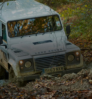 Land Rover Experience at Eastnor Castle