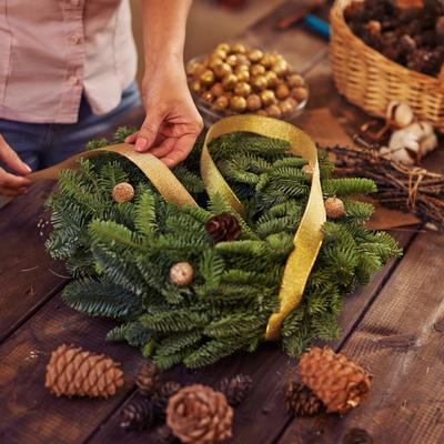 Wreath making masterclass