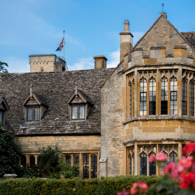 this is a photo of the outside of ellenborough on a sunny day