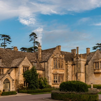this is a photo of the outside exterior of ellenborough on a sunny day