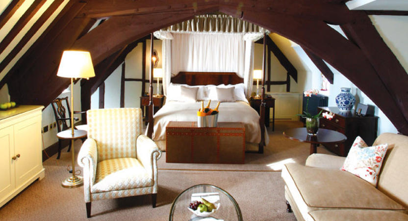 A photo of a luxury Grand Suite